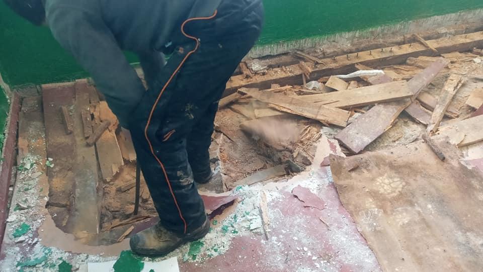 В селе Болградского района полным ходом ремонтируют Дом культуры, который не обновляли сорок лет