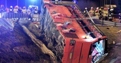 В Польше автобус с украинцами попал в ДТП: 6 погибших, 35 пострадавших