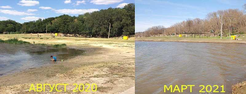 Население Бессарабии не может нарадоваться: уровень воды озера Ялпуг достиг отметки 2,8 метра