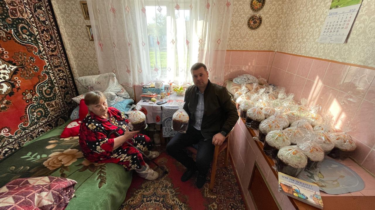 """В Бессарабии проходит традиционная пасхальная акция от """"Фонда Добра и Любви"""" Александра Дубового"""