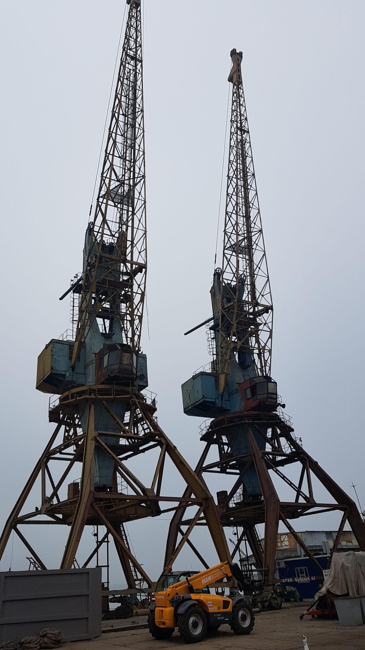 Готовящийся к приватизации Усть-Дунайский порт в Вилково продал с молотка 200 тонн металлолома