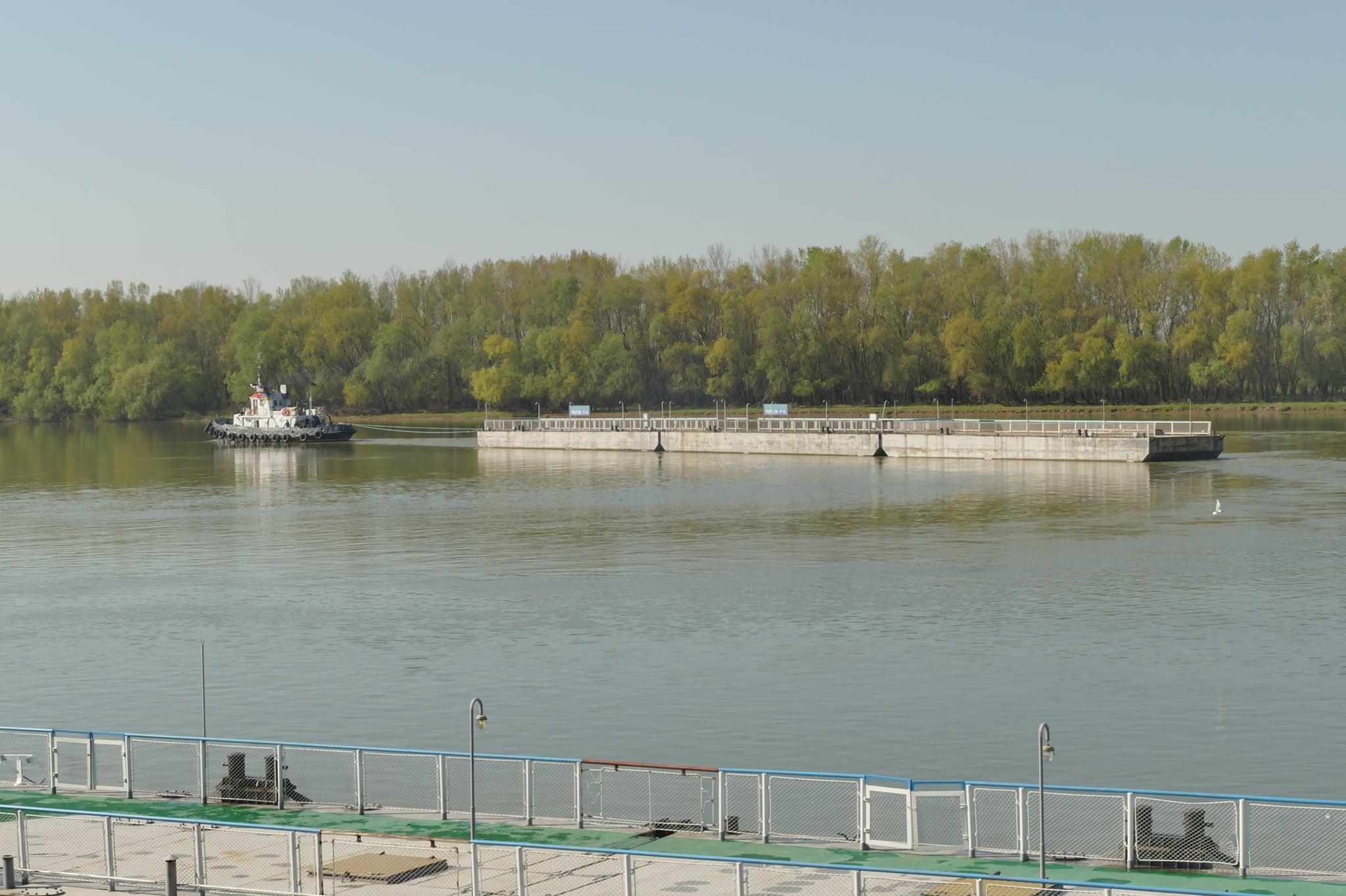 Три понтона Измаильского морвокзала обновят в Херсоне