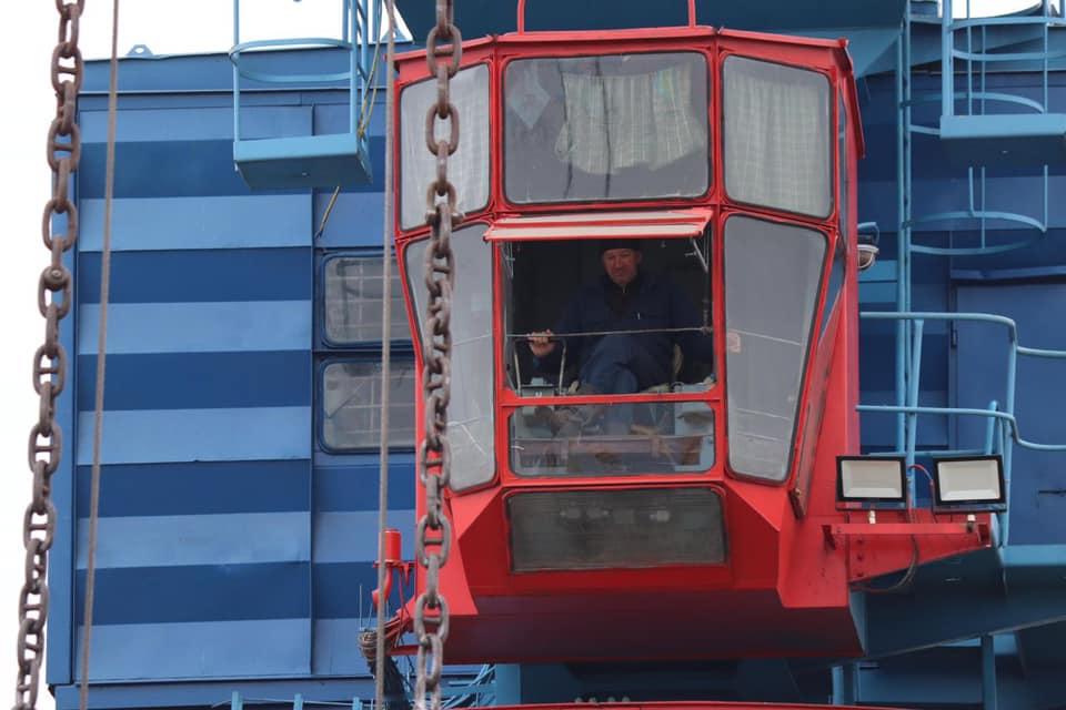 Измаильский порт готовит партию шрота к отправке в Египет (фоторепортаж)