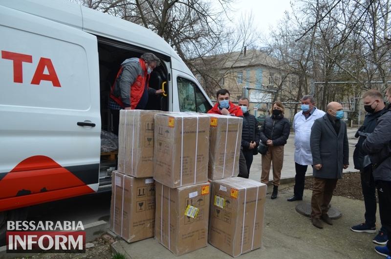 Белгород-Днестровская горбольница получила от спонсоров 20 кислородных концентраторов