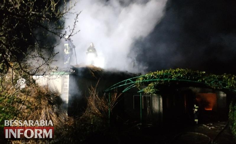 Утеплились камышом: сильный пожар оставил без крыши над головой многодетную семью в Белгород-Днестровском районе