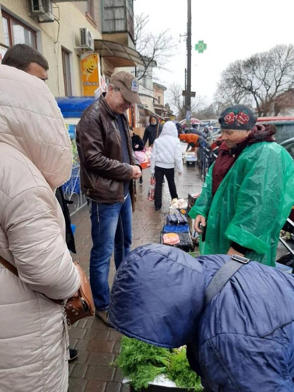 Профилактическая работа продолжается: в Аккермане провели очередной рейд по борьбе со стихийной торговлей