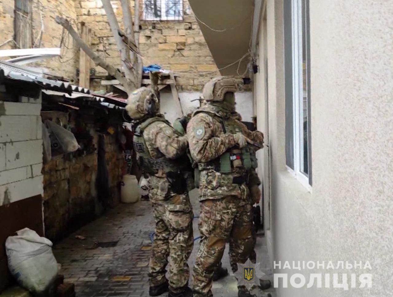 Полиция ведет массовые зачистки Одесской области от криминалитетов