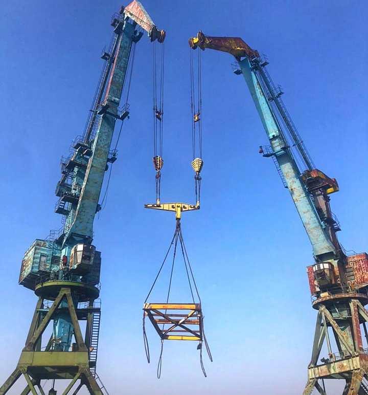 Ренийский порт активно готовится к приему негабаритных грузов