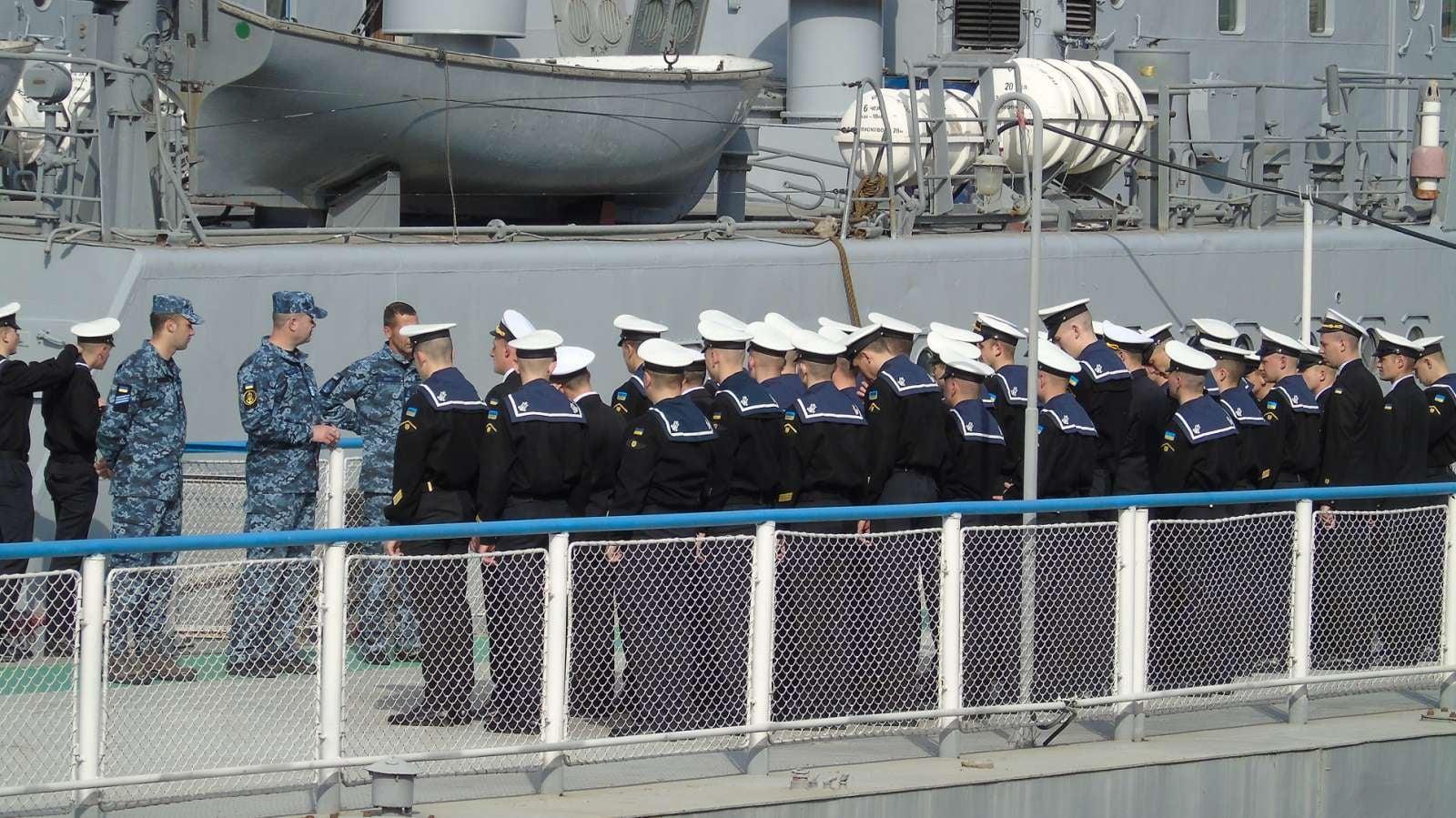 """В Измаиле """"гостят"""" учебные катера ВМС ВСУ"""