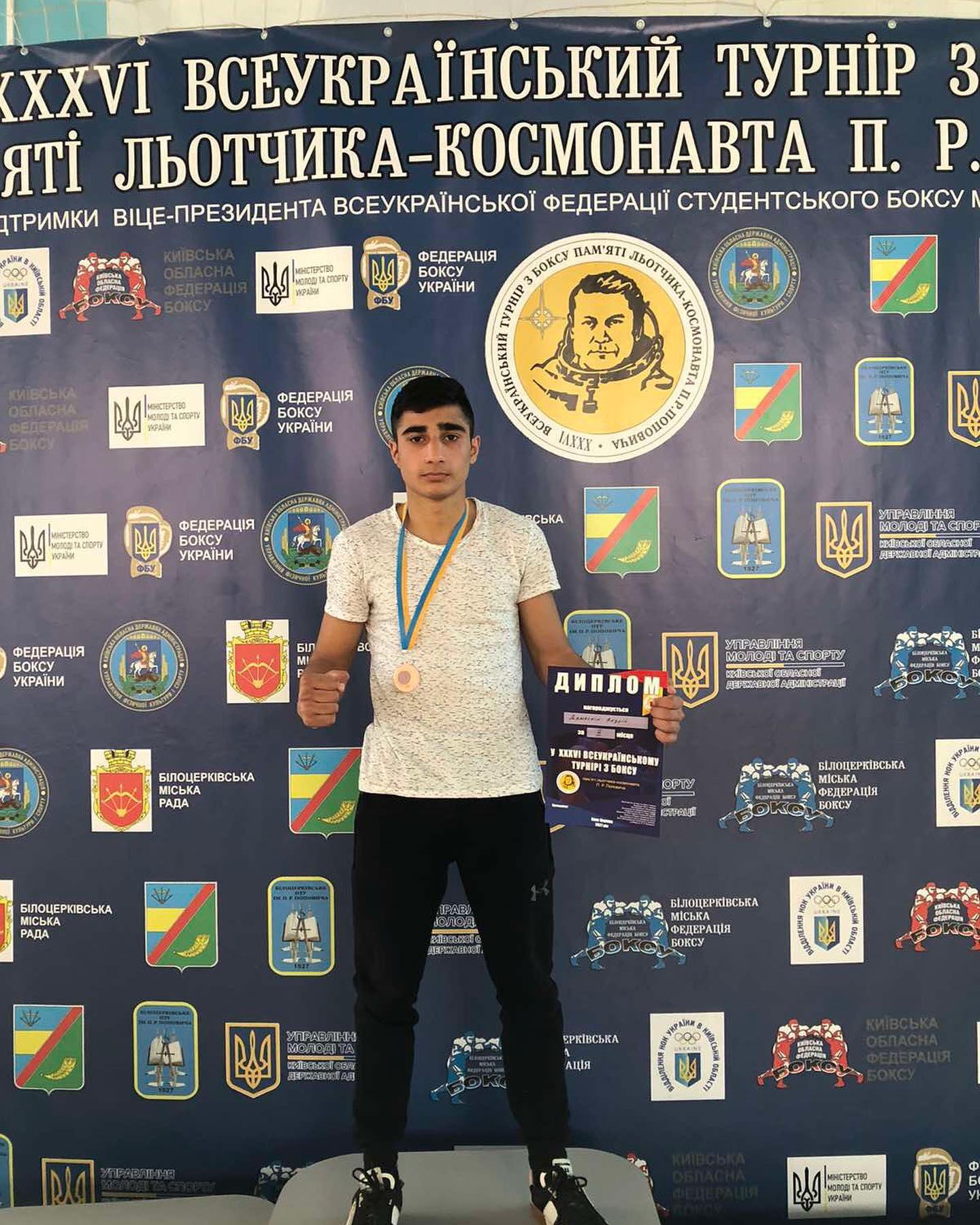 Измаильский боксер привез бронзу с всеукраинского турнира в Белой Церкви