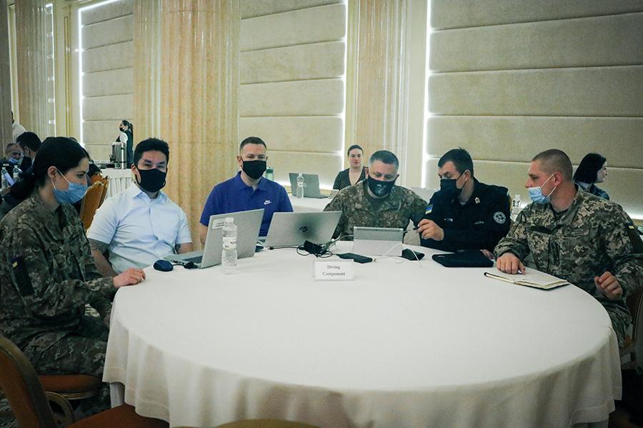 """В Одессе обсудили программу военных учений """"Си Бриз-2021"""""""