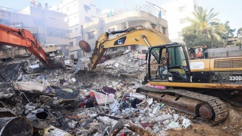 В результате удара с воздуха разрушен дом лидера ХАМАС в Секторе Газа