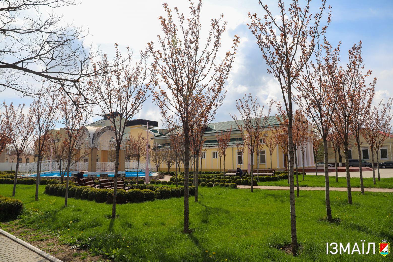 В Измаиле планируют отремонтировать фонтан в Театральном сквере