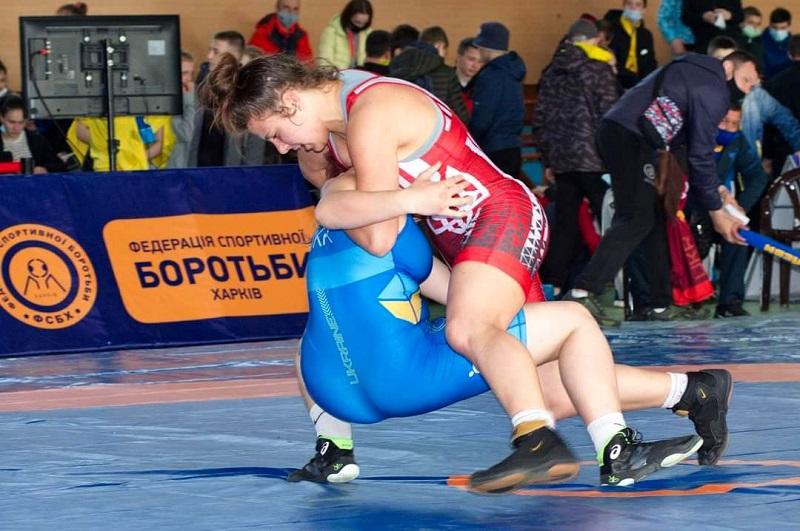 Воспитанница Белгород-Днестровской ДЮСШ стала чемпионкой Украины U15 по вольной борьбе