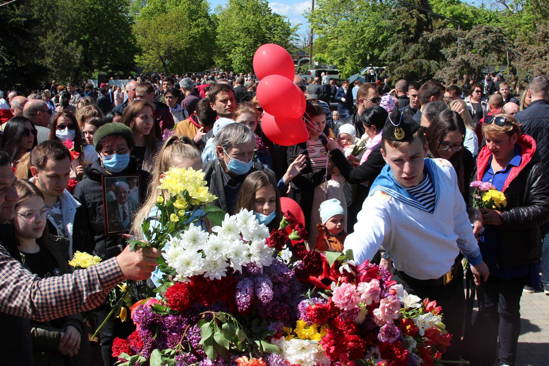 Торжественное шествие и праздничный концерт: в Белгороде-Днестровском отметили День Победы