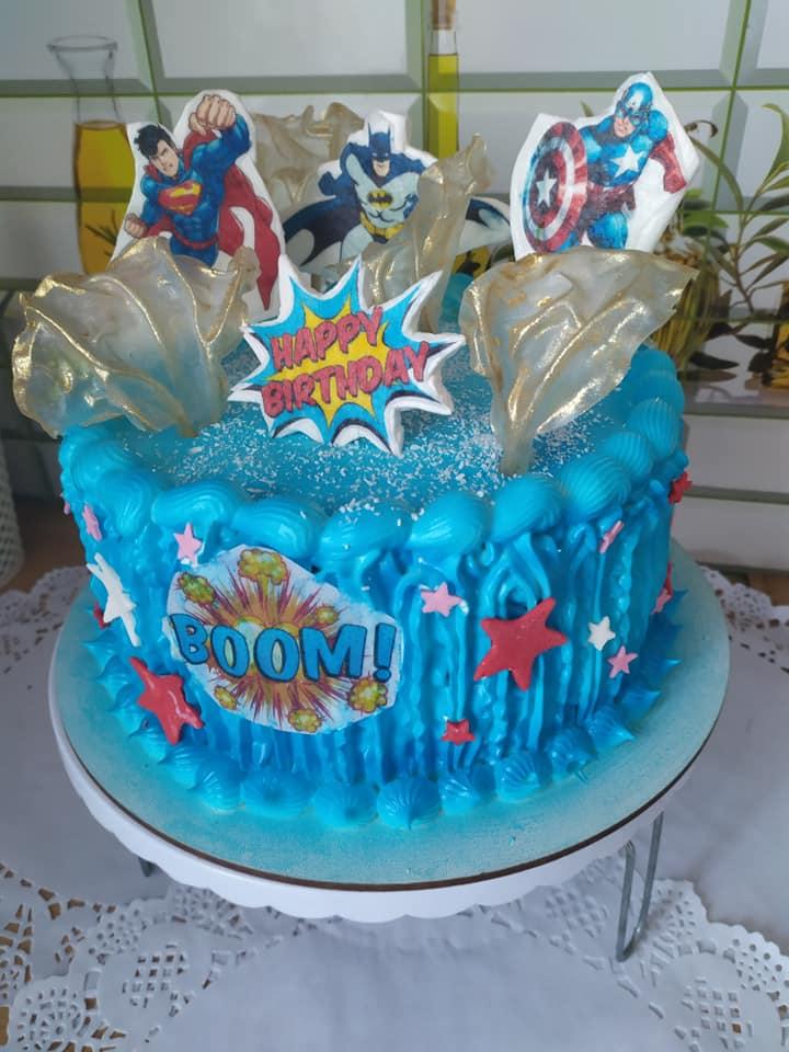 Кондитер из Килии бесплатно печет именинные торты для детей, родители которых не могут позволить себе праздник
