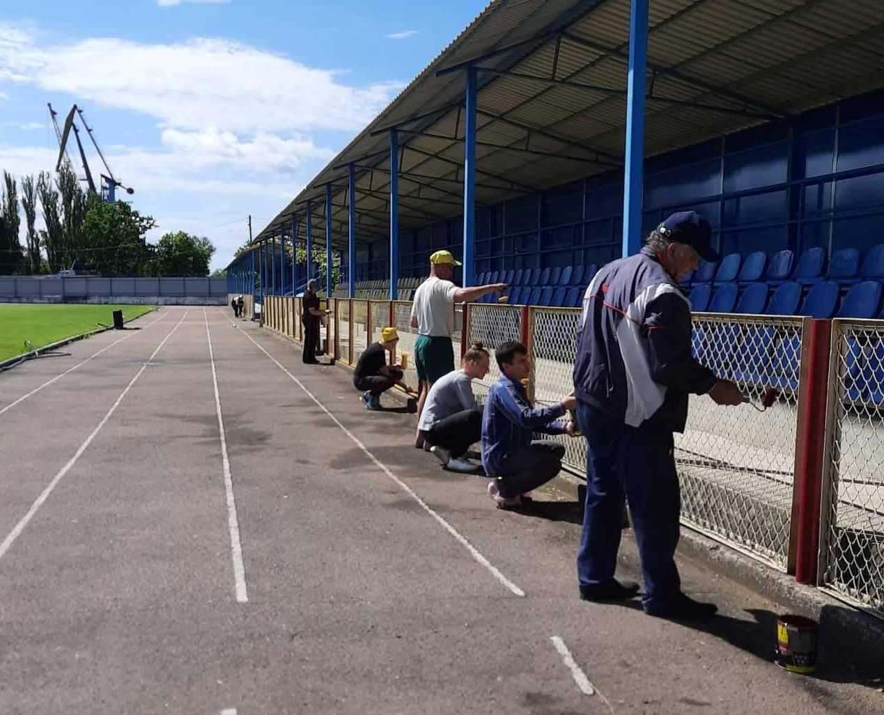Пошаговое перевоплощение: Килийскую спортивную школу благоустраивают силами сотрудников