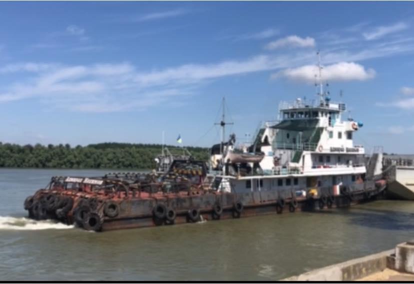 В Ренийском порту перегрузили очередную партию металла