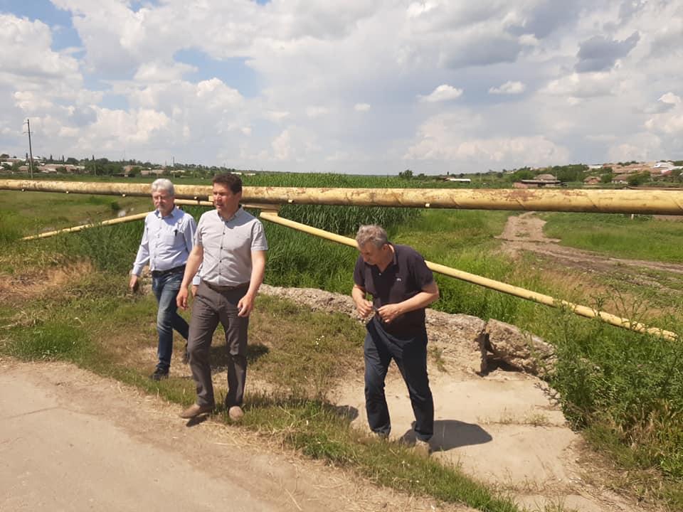 В Болградском районе продвигается решение давней проблемы с рекой Карасулак