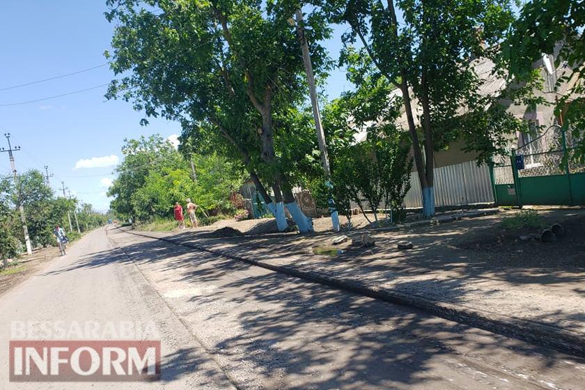 В Килии снимают асфальтное покрытие на одной из не так давно отремонтированных улиц - причина