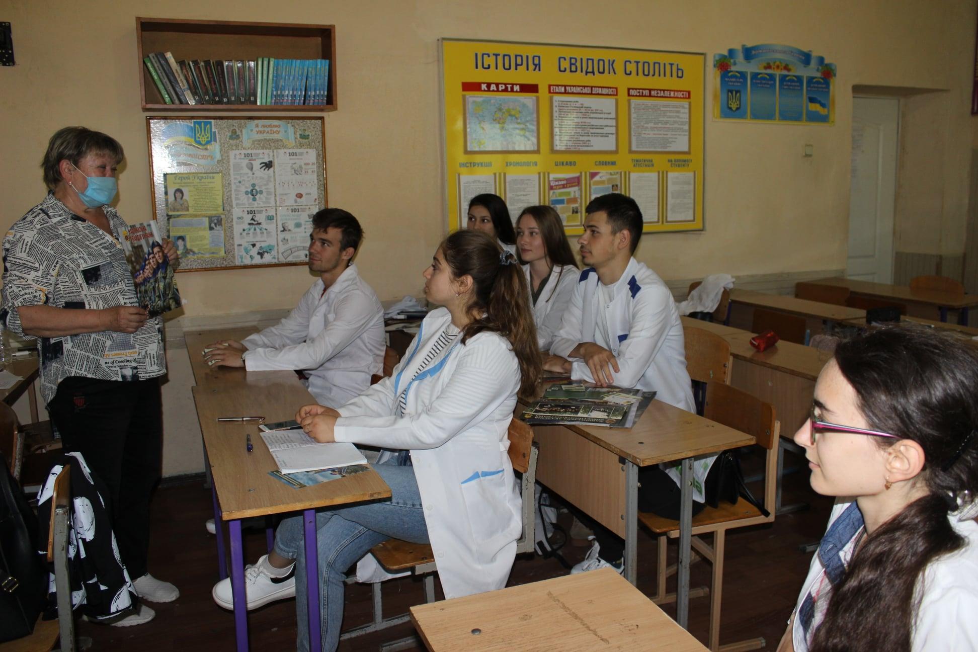 Студенты Измаильского медучилища заинтересованы перспективой службы в Нацгвардии
