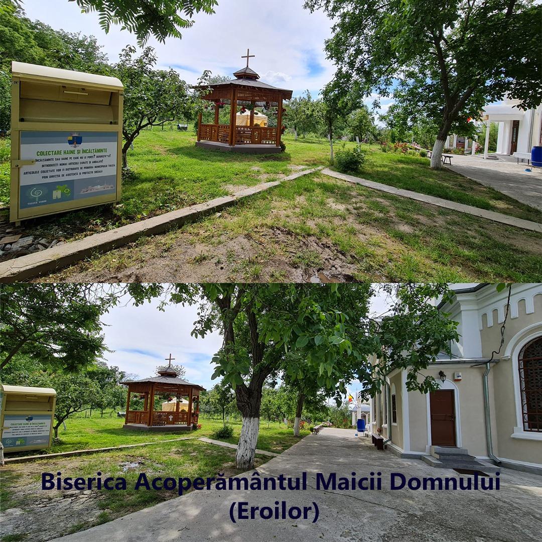 Как у них: власти румынской Тулчи установили по городу контейнеры для сбора одежды и обуви нуждающимся