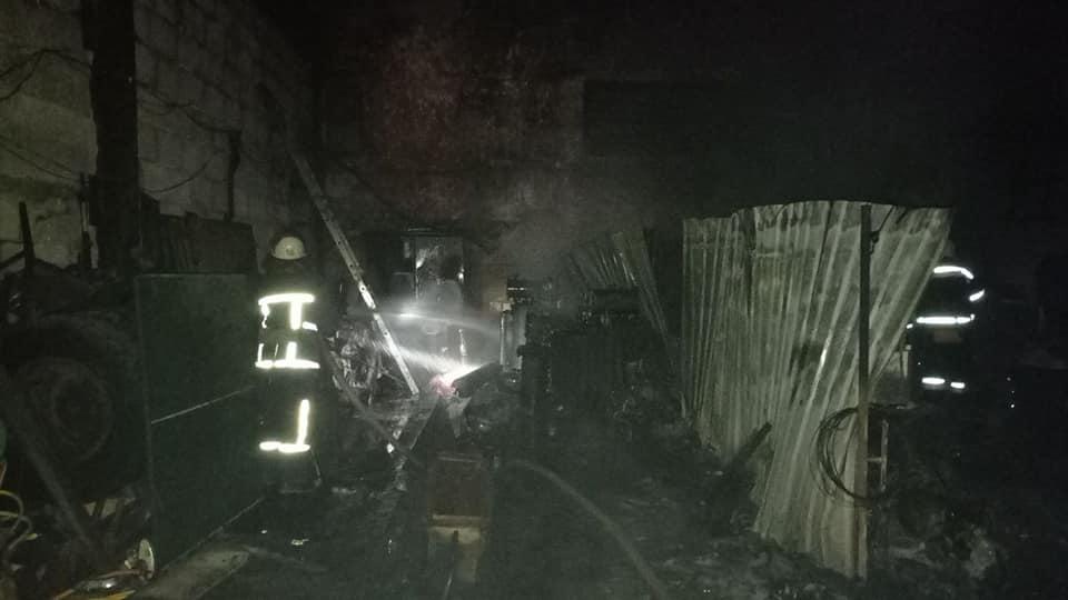 Минувшей ночью в Аккермане горел склад