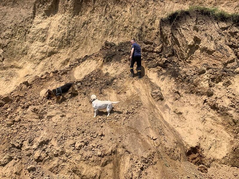 В Лебедевке завершены поисково-спасательные работы: жертв обвала не обнаружили