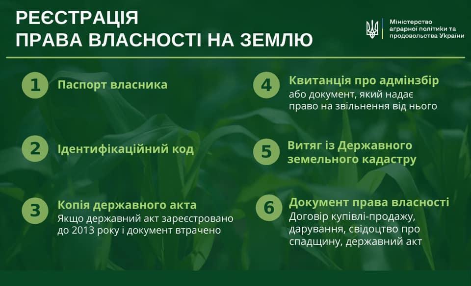 Министр агрополитики обнародовал список документов, необходимых для продажи земли
