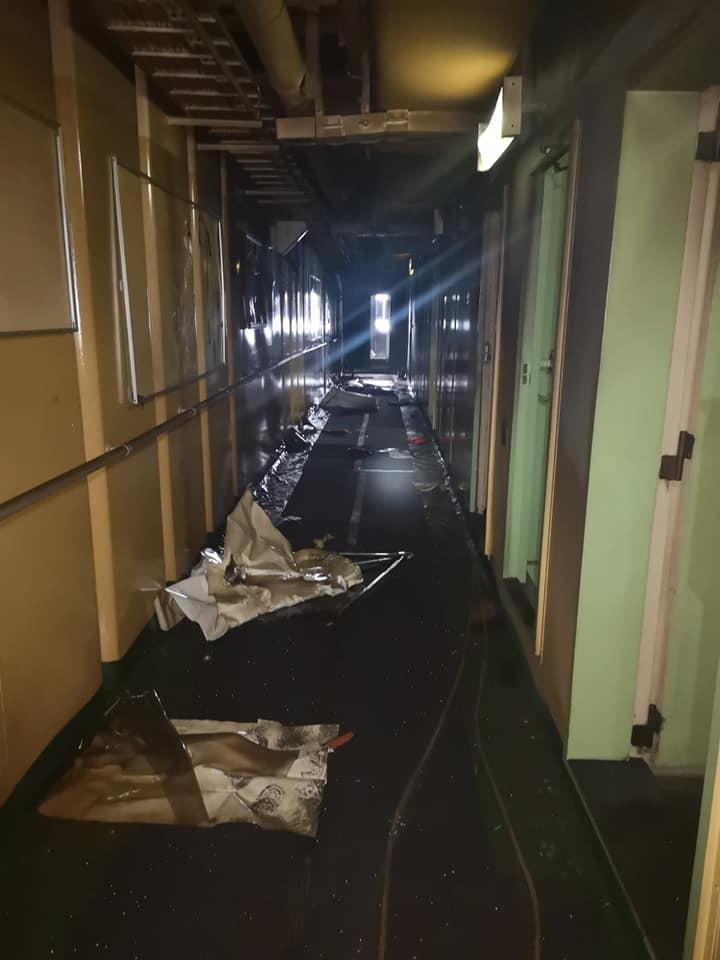 Судно с одесситами загорелось вблизи Шри-Ланки: один из моряков мог сгореть заживо