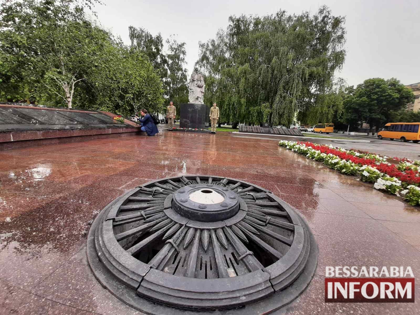 Ровно 80 лет назад: в Измаиле почтили память жертв Второй мировой войны