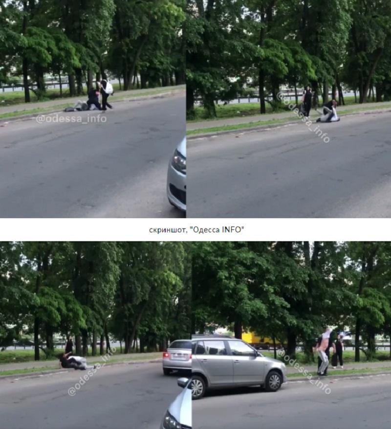 """В Одессе пассажир такси показал патрульному голую """"пятую точку"""" и поплатился за выходку - соцсети"""