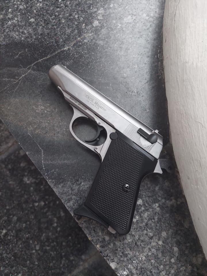 """Одессит устроил стрельбу возле здания мэрии, чтобы """"выпустить пар"""" после ссоры с женой"""