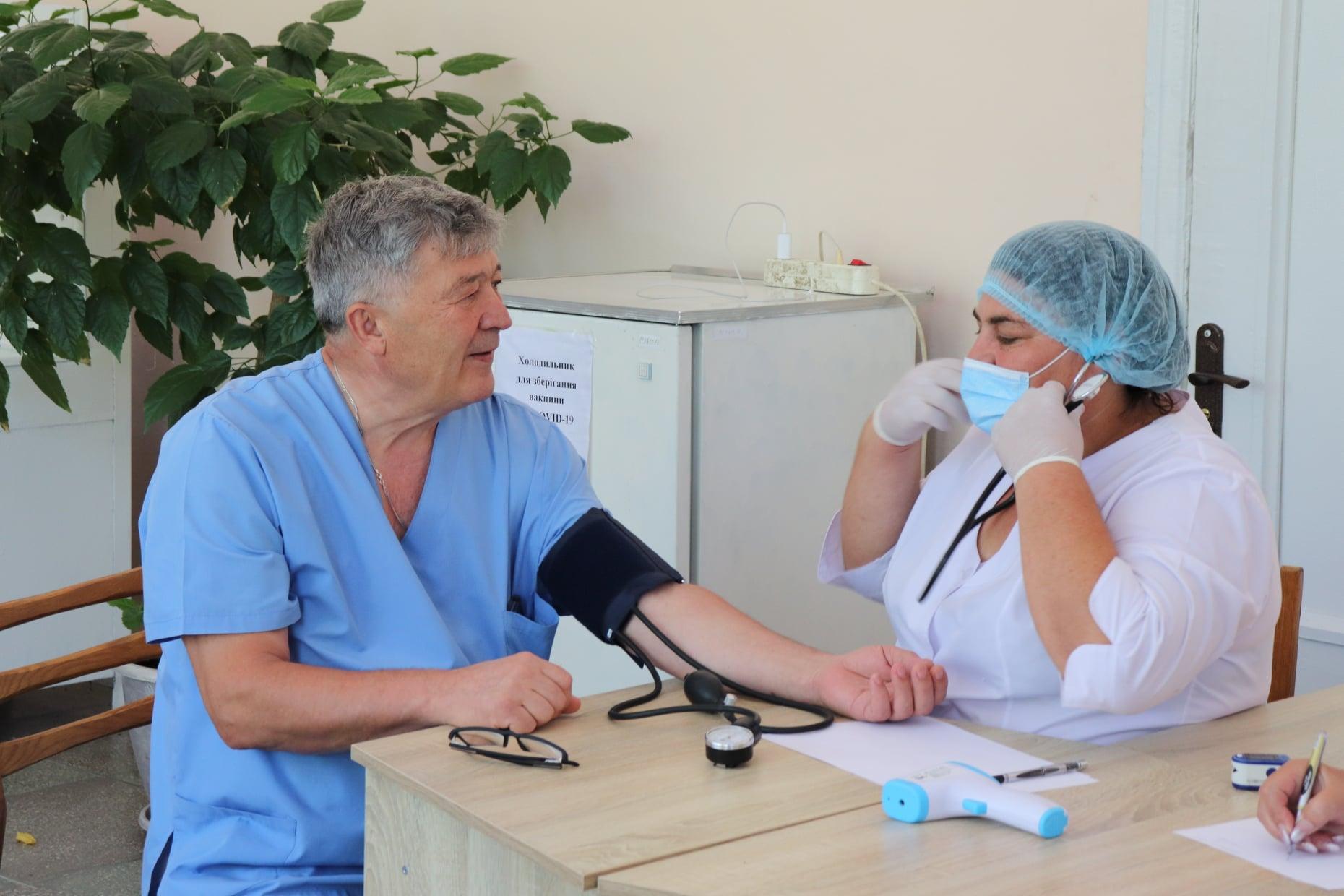 В Болграде открылся центр массовой вакцинации от COVID-19