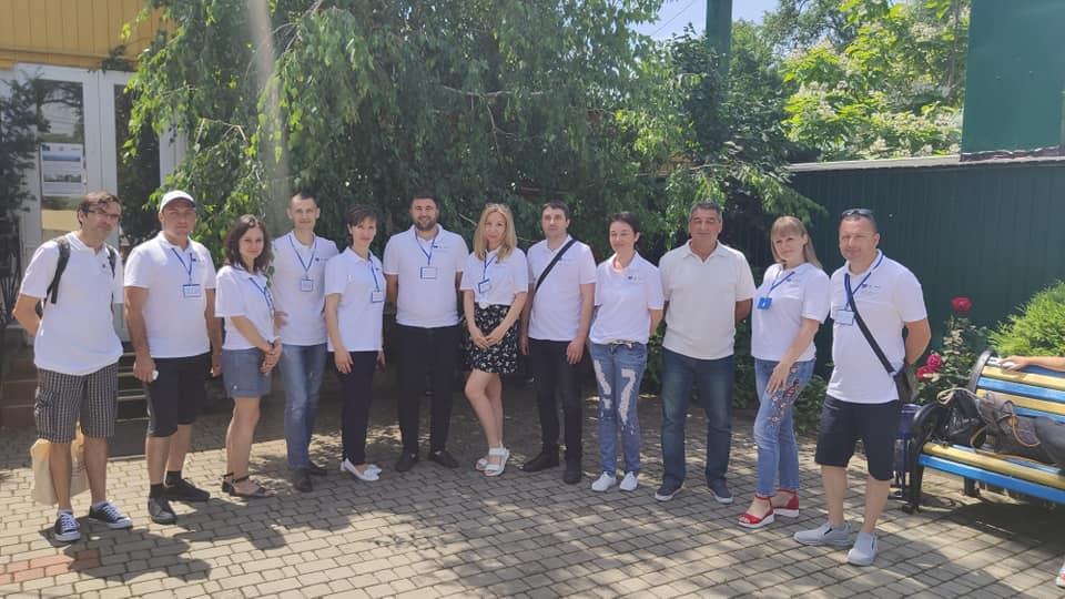 В Болграде в рамках экологического марафона облагородили пляжную зону