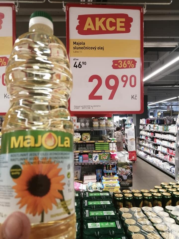 Украинское подсолнечное масло в супермаркетах Евросоюза продается вдвое дешевле
