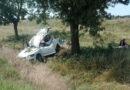 За один день два автомобиля слетели с дороги Спасское-Вилково
