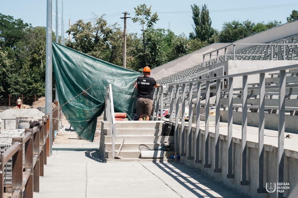 Обновленный стадион в Белгороде-Днестровском обещают открыть в сентябре