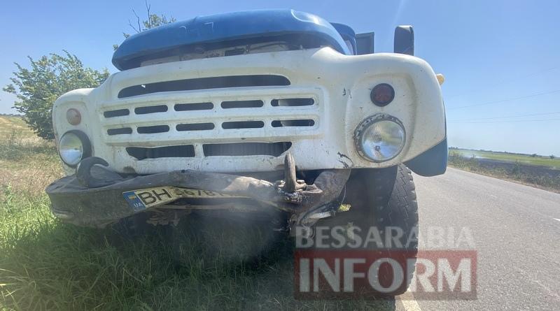 На дороге Спасское-Вилково из-за пожара на поле произошло ДТП с участием четырех автомобилей