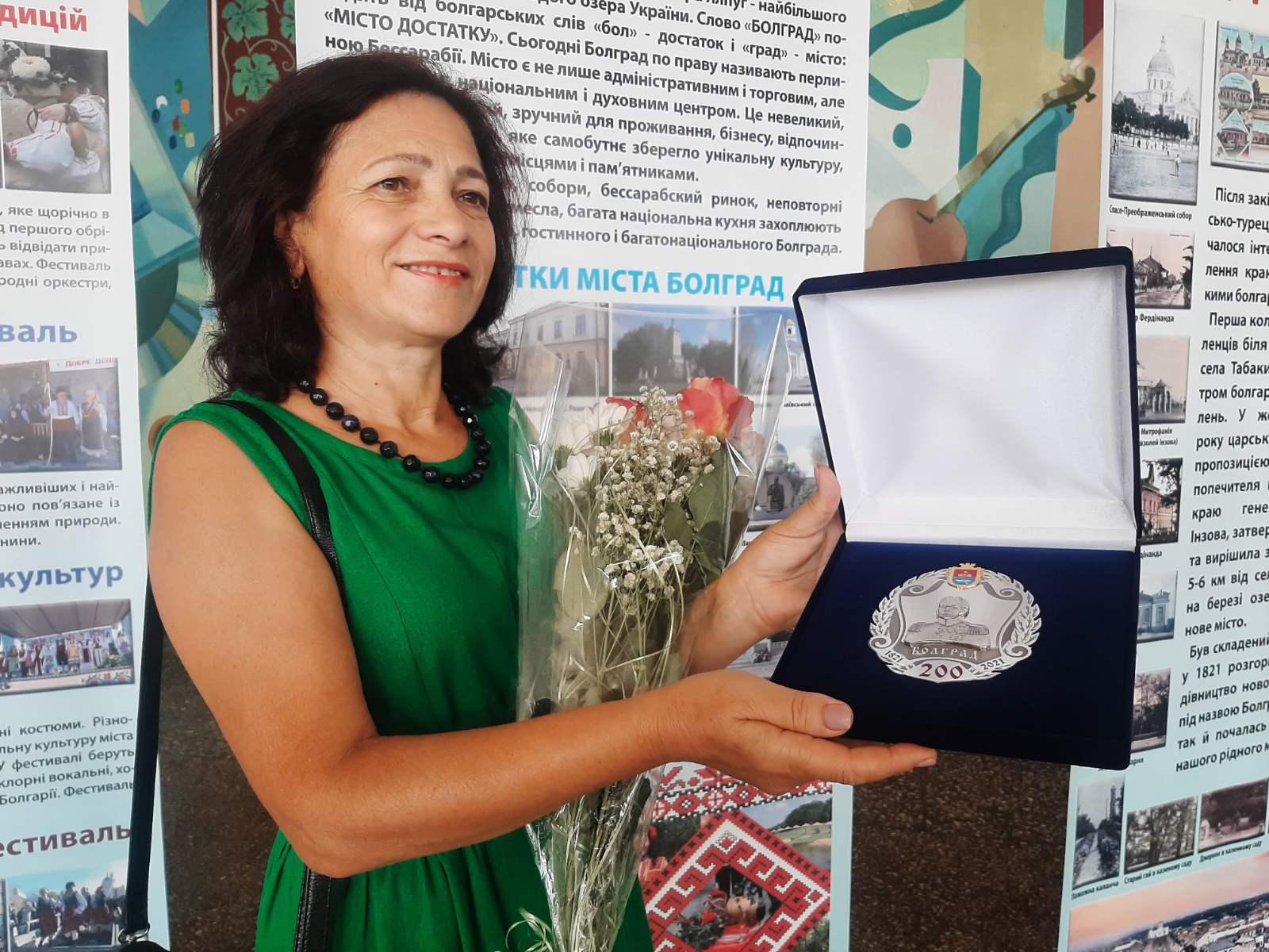 Во время празднования двухсотлетия Болграда местный хор представил гимн города