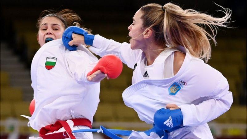 Одесская каратистка завоевала серебряную медаль Олимпиады
