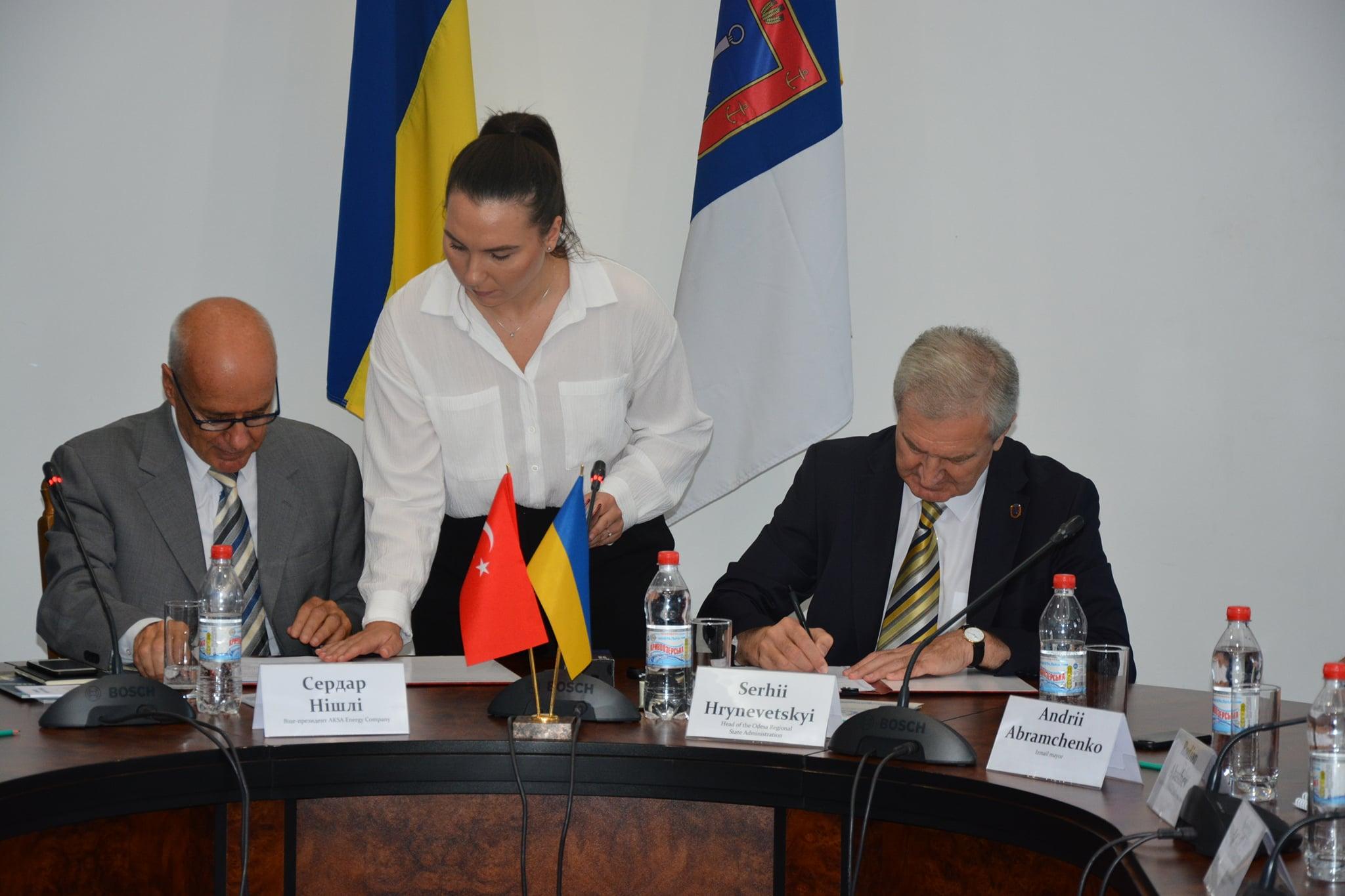 Подписан документ о строительстве турками парогазовой электростанции в Измаиле