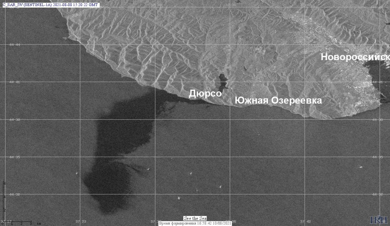 В России произошла утечка нефти в Черное море. Экологи считают, что Украина может ощутить её последствия