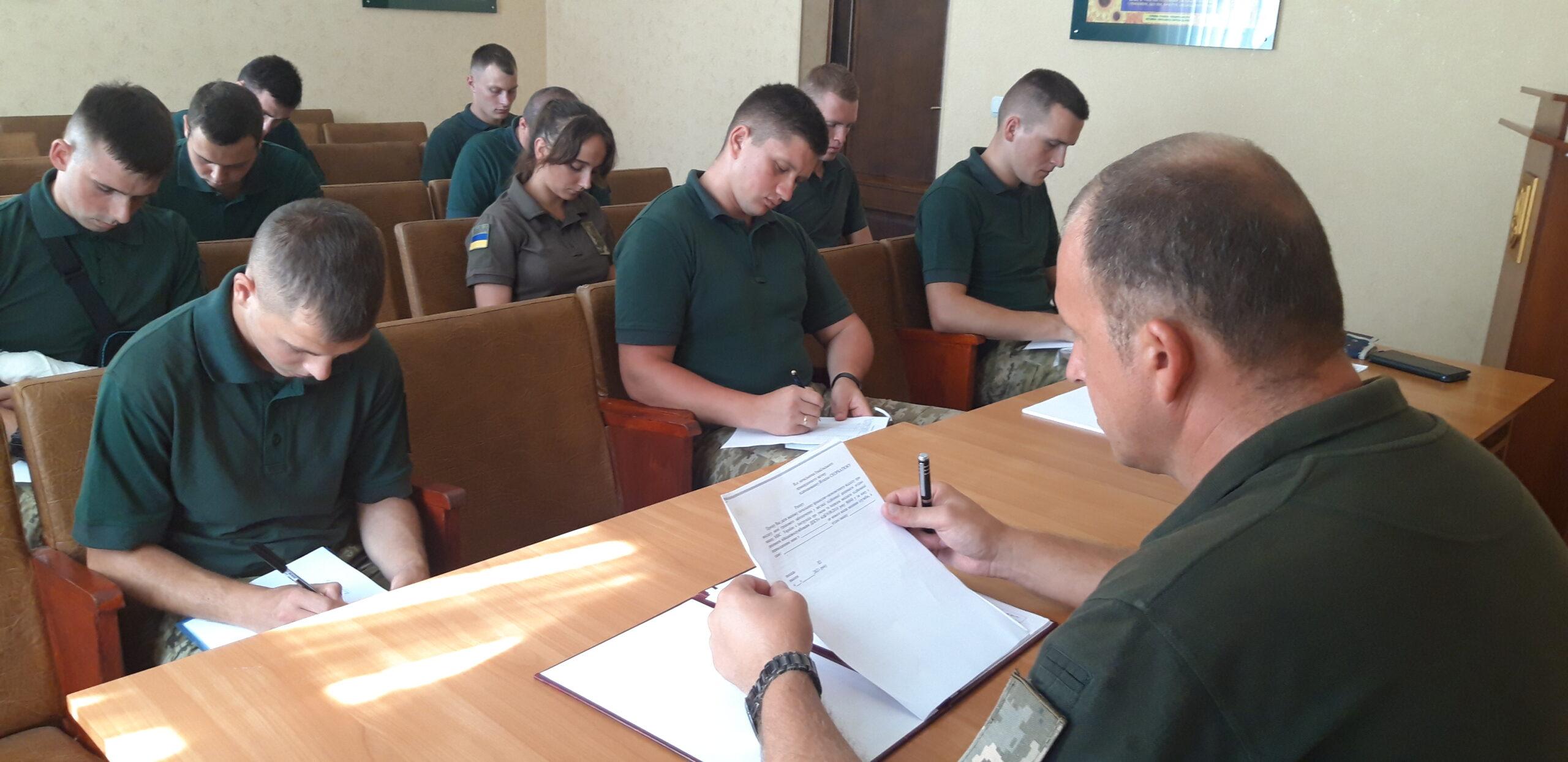 """В Измаильском пограничном отряде - """"офицерское"""" пополнение"""