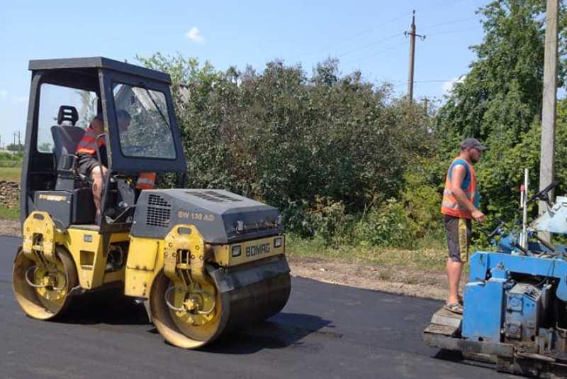 В селе Килийской громады впервые за 30 лет отремонтировали дорогу