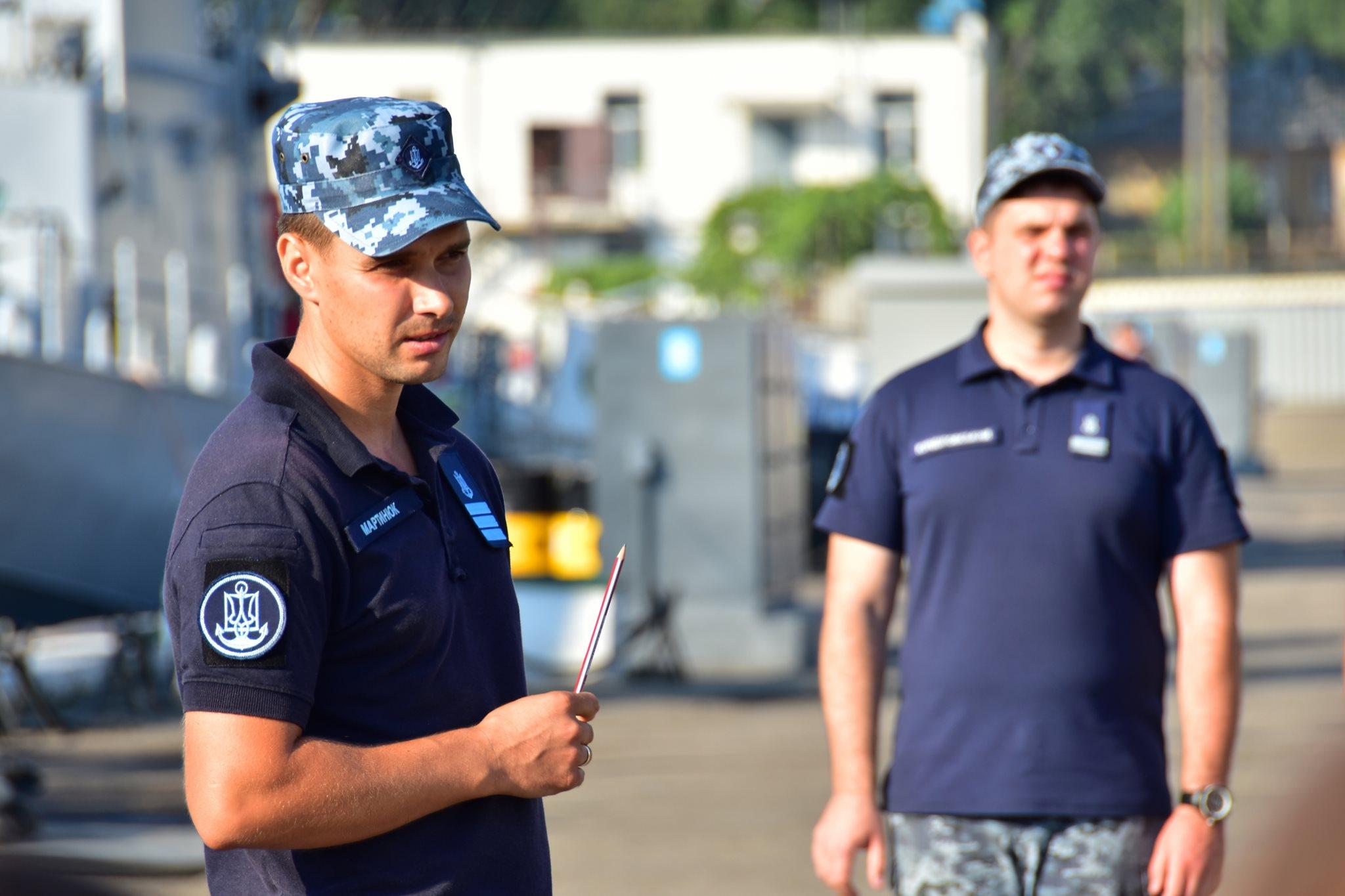 Подразделение ВМС Украины сегодня примет участие в международных учениях в Румынии