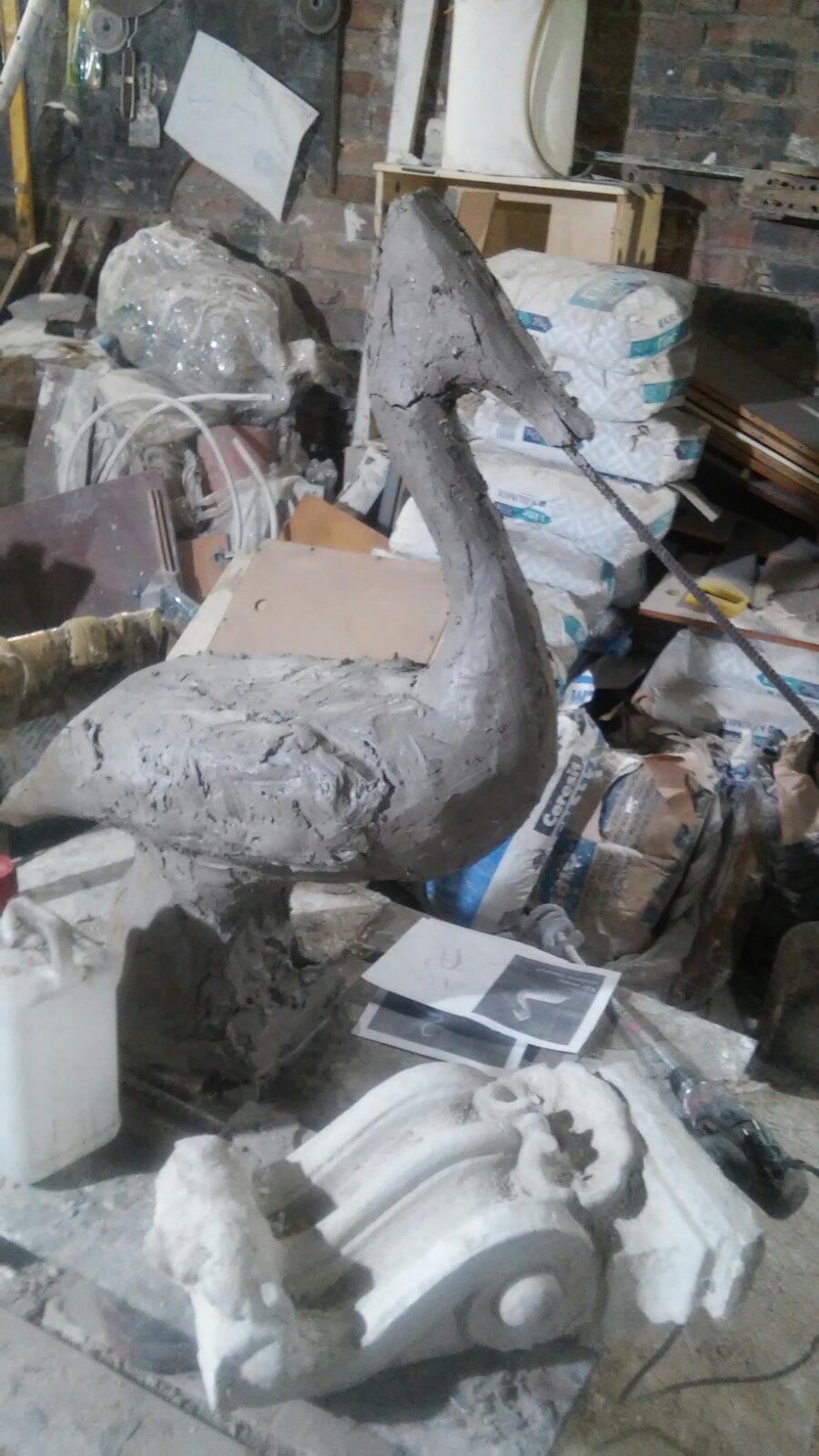 В Дунайском биосферном заповеднике установят скульптуры кудрявых пеликанов