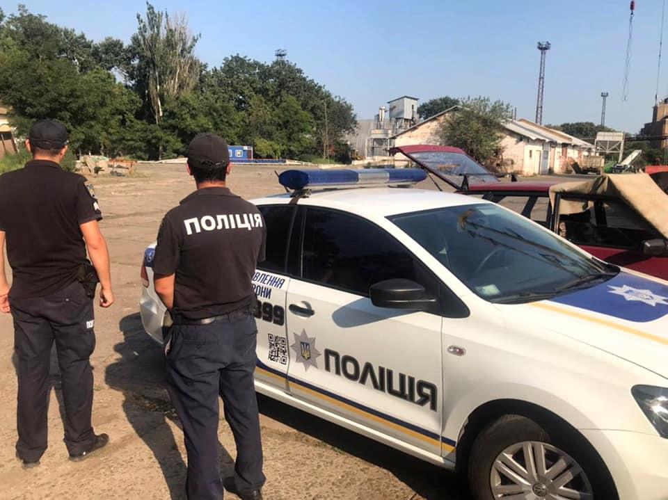 Полиция взяла под охрану склады оператора Усть-Дунайского порта после случая с их захватом