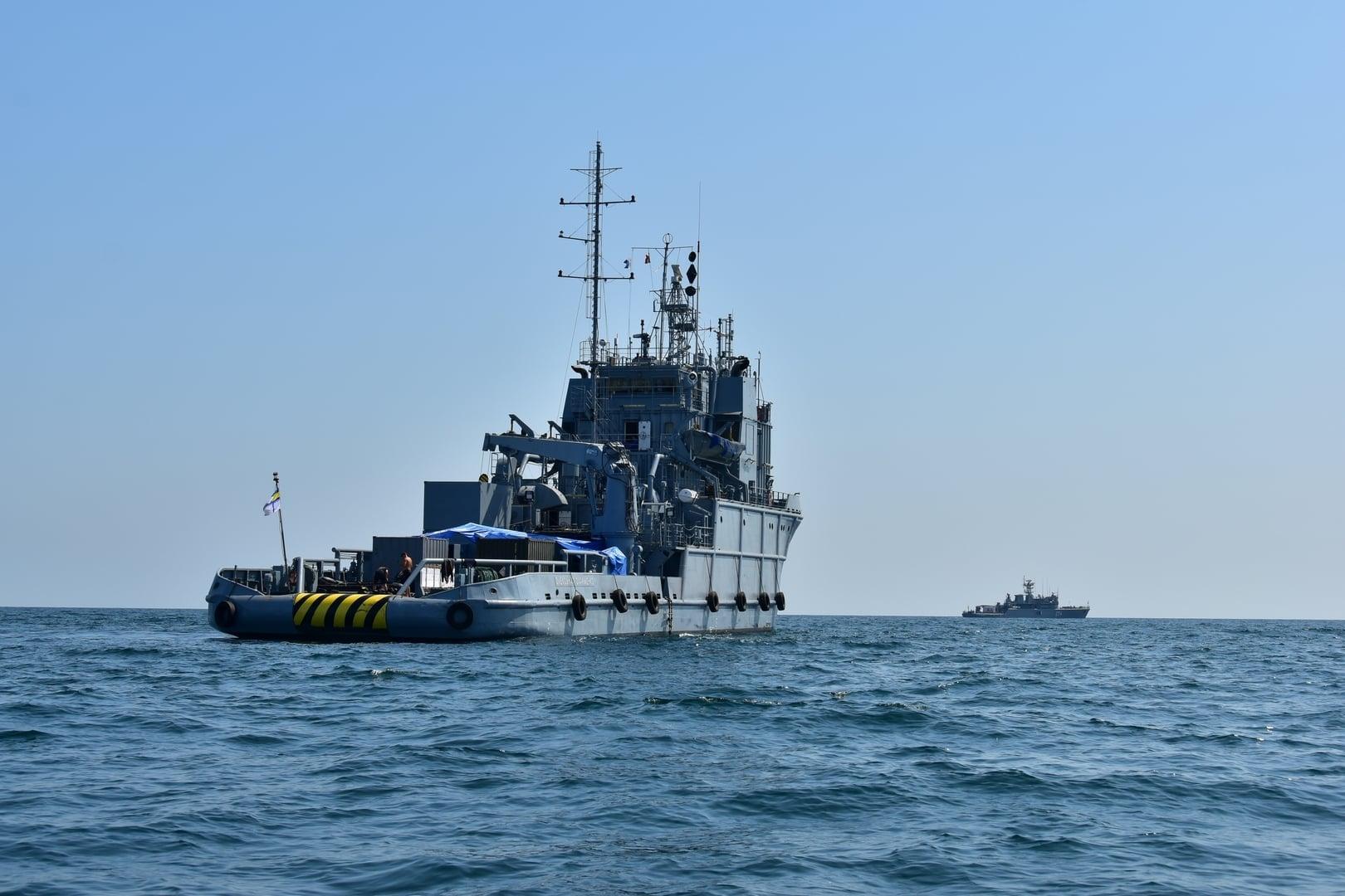 «Дайв-2021»: в Черном море тренируются водолазы из 6 стран