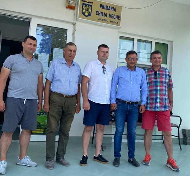 Глава Килийской громады побывал в румынской Килии, чтобы положить начало созданию пункта пропуска между городами